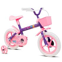 Bicicleta Infantil Verden Bikes Paty Aro 12 Lilás e Rosa - 10441