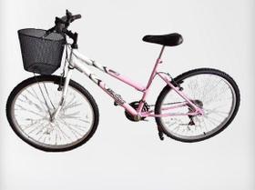 Bicicleta wendy aro 26 c/cesta 18v