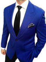 Blazer Masculino Slim 2 Botões Corte Italiano - 7 cores - Ternos Multimarcas