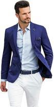 Blazer Masculino Slim 2 Botões Corte Italiano Super Oferta 7 Cores - Shopping do Terno