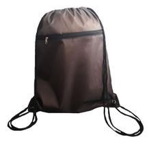 Bolsa Bag Sacola Básica Mochila Toda Lisa Esportes Academia