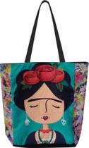 Bolsa Frida Kahlo Bonequinha Sacola Ecobag