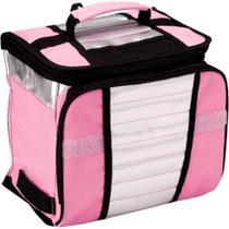 Bolsa termica ice cooler 7,5l rosa
