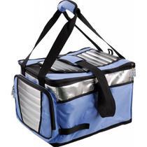 Bolsa Térmica Ice Cooler Dobrável Azul 36L - Mor