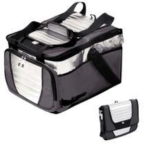 Bolsa Termica Ice Cooler Mor Dobravel 36 Litros Cinza