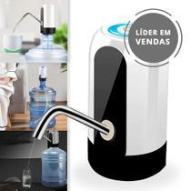 Bomba Elétrica Filtro Para Galão de Água 10 20 litros com Dispensador Automática