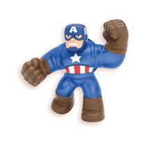 Boneco que Estica Marvel Goo Jit Zu Capitão América
