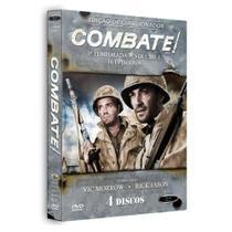 Box combate primeira temporada vol 01 - 04 dvds