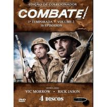 Box combate primeira temporada vol 02 - 04 dvds