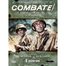Box DVD Combate Terceira Temporada Volume 1