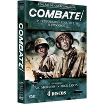 Box DVD Combate Terceira Temporada Volume 2