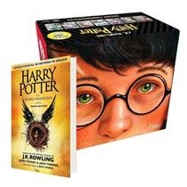 Box harry potter 20 anos + a criança amaldiçoada capa dura
