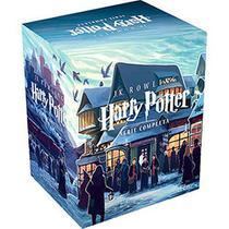 Box livros harry potter coleção castelo j.k.rowling 7 vol.