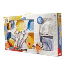 Brincando de Ser Kit Chefe de Cozinha Multikids - BR957