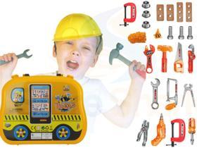 Brinquedo Caixa Maleta De Ferramentas Infantil Didática Nf