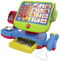 Brinquedo Interativo - Mini Mercadinho Infantil - Caixa Eletrônico - Minimi