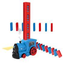 Brinquedo Trenzinho Infantil Empilhadeiro Dominó - Dm Toys