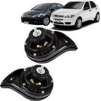 Buzina Caracol Dupla Linha Fiat Citroen Peugeot 05 a 20 12v