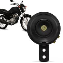 Buzina Universal para Moto Modelo Paquerinha 12V Preto