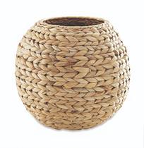 Cachepot em fibra natural grande