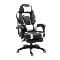 Cadeira Gamer Challenger Preta e Branca