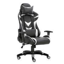 Cadeira Gamer Craft Preta e Branca