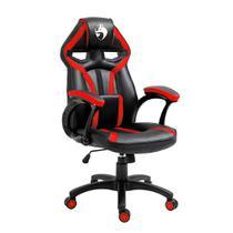 Cadeira Gamer Fox Racer Cross - Preta/Vermelha