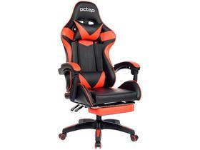 Cadeira Gamer PCTop Vermelha Racer 1006