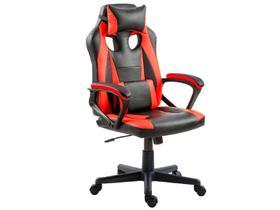 Cadeira Gamer Preta e Vermelha 100
