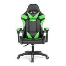 Cadeira Gamer Prizi Verde - PZ1005