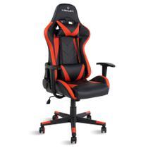 Cadeira gamer reclinável Strike Healer TM Vermelho/Preto