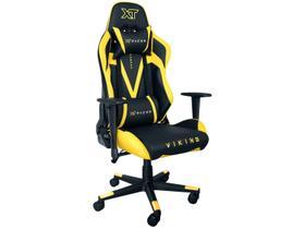 Cadeira Gamer XT Racer Reclinável Preta e Amarela