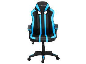 Cadeira Gamer XT Racer Reclinável Preta e Azul