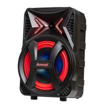 Caixa Amplificadora AMVOX ACA 189 Montanha, Entradas USB/SD CARD e para Microfone,  Bivolt