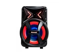 Caixa Amplificadora AMVOX ACA 189 Montanha, Entradas USB/SD CARD e para Microfone, Rádio FM, Bluetooth, Preto, 180W, Biv