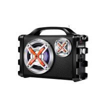 Caixa Amplificadora Mondial Connect Thunder IX MCO-09,USB,SD, FM, Bluetooth, Entrada para Microfone e 100W RMS
