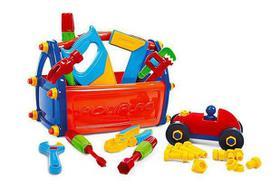 Caixa Caixinha Maleta Ferramentas Infantil Brinquedo Poliplac