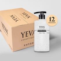 Caixa Com 12 Unidades Gel Antisséptico Yeva 500ml