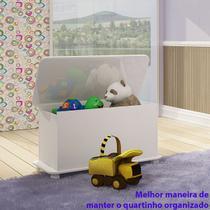 Caixa de Brinquedos Ref Bb 710 Branco - Completa Moveis