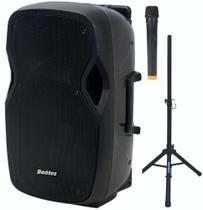 Caixa de som amplif bootes bda-1515b  af 15 pol+dti 420w mus.