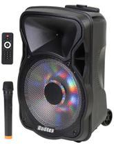 Caixa de som amplif bootes btu-522 af 12 pol.+tw 200w mus.
