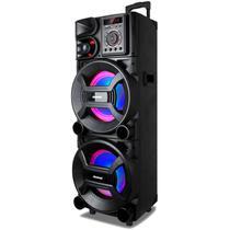 Caixa de Som Amplificadora Amvox ACA 1501 New, 1501 Watts, Bluetooth, USB