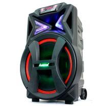 Caixa de Som Amplificadora Amvox Aca 700 Pancadão, Bluetooth, Usb 700 Watts