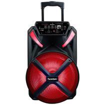 Caixa de Som Amplificadora Bomber Papão 500, Bluetooth, USB
