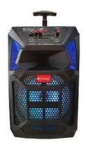 Caixa De Som Amplificadora Buetooth Microfone Com Fio