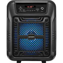 Caixa de Som Amplificadora Lenoxx CA60 Portatil 80w Controle Remoto Bivolt
