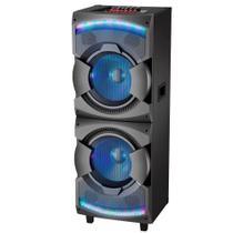 Caixa de Som Amplificadora Mondial CM12, USB/SD, Radio FM, 1500W - Preto