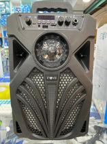 Caixa De Som Amplificadora Portátil Bluetooth USB FM Inova Rad 8650