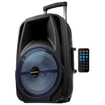 Caixa de som bluetooth, rádio, amplificadora portátil 500w