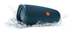 Caixa de Som Portátil Bluetooth JBL Charge 4 Azul - 30 Watts